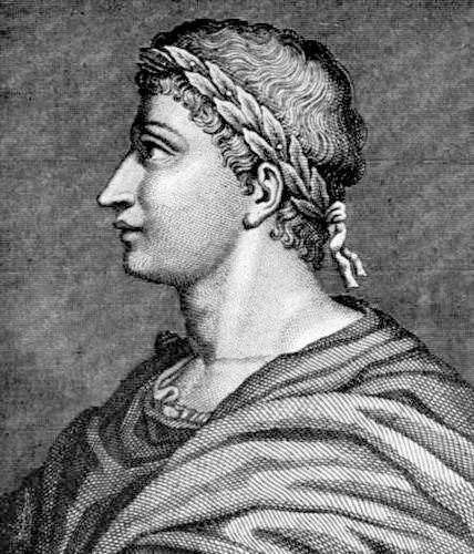 Ovid, Latin poet in Roman Poetry