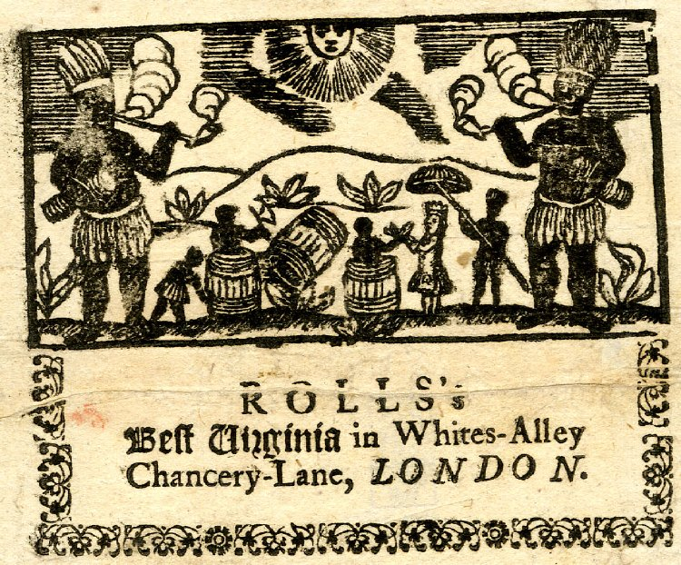 Rolls's Best Virginia tobacco advertisement