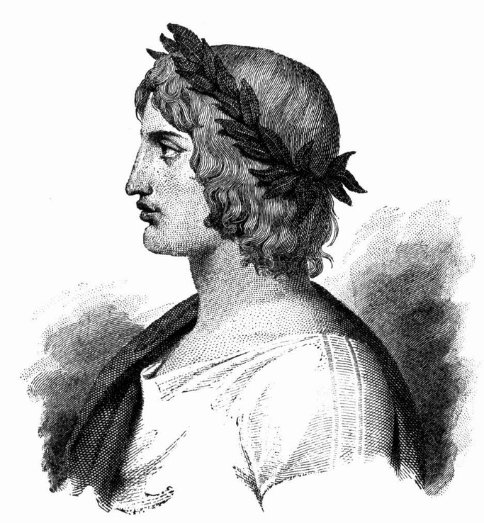young Virgil, Roman poetry