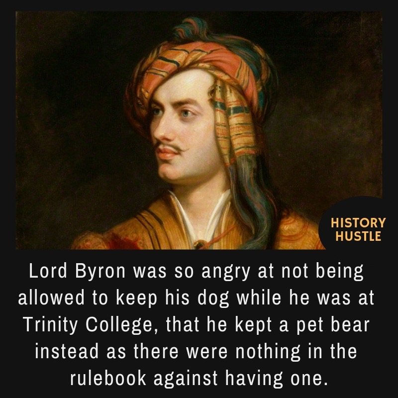 Lord Byron fact
