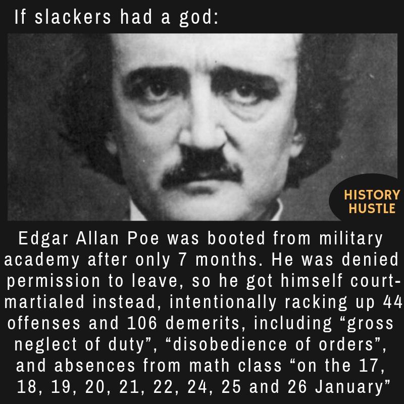 Edgar Allan Poe fact