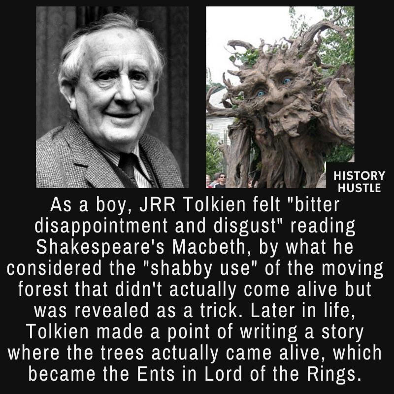 JRR Tolkien fact